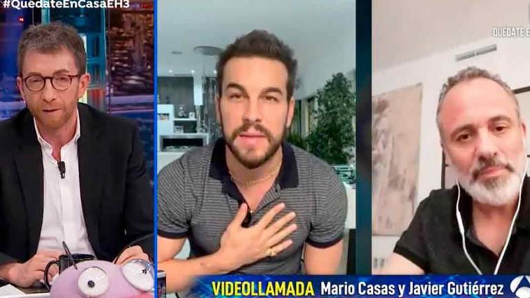 Pablo Motos, Mario Casas y Javier Gutiérrez - El Hormiguero