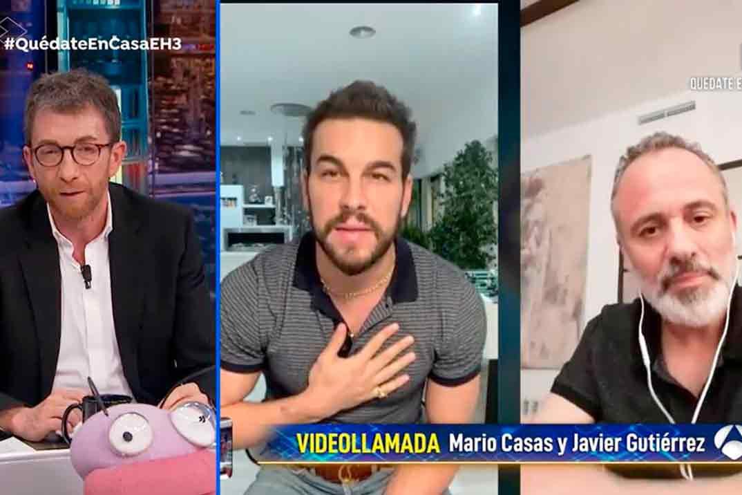 Las palabras de ánimo de Mario Casas y el equipo de 'El Hormiguero' a Dani Rovira