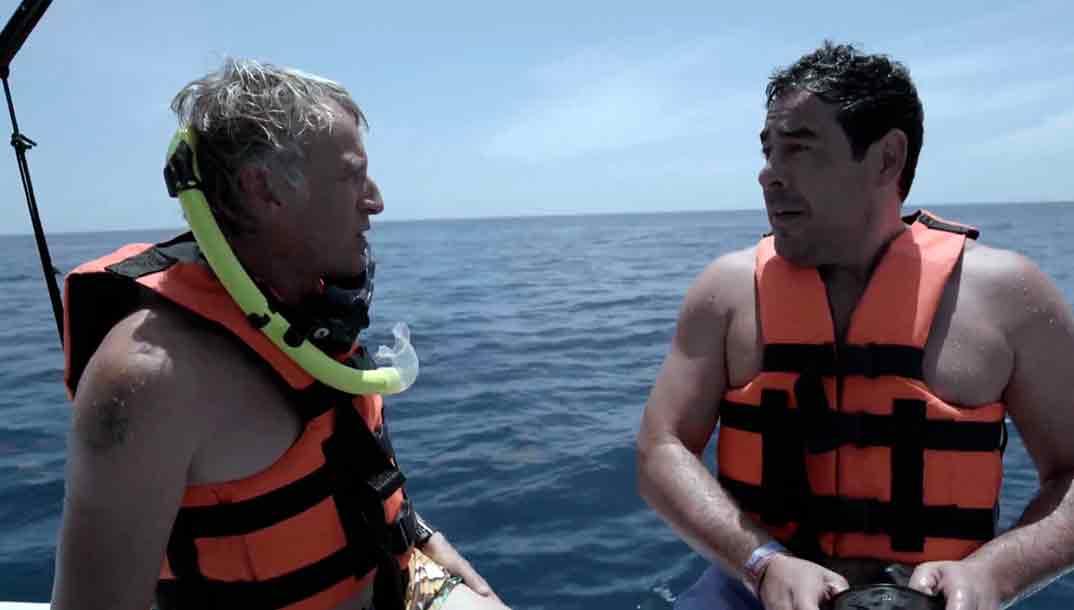 Pablo Chiapella y Jesús Calleja - Planeta Calleja © Mediaset