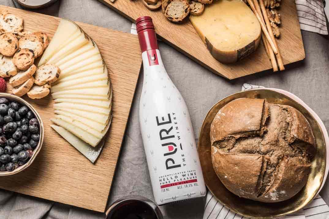 """PURE The Winery: el primer vino """"zero azúcar"""" del mercado"""