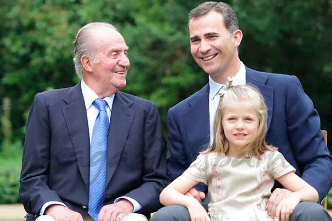 El rey Felipe VI renuncia a la herencia de Don Juan Carlos