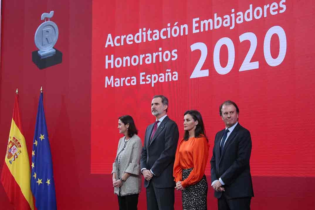 """Reyes Felipe y Letizia - """"Embajadores Honorarios de la Marca España"""" © Casa S.M. El Rey"""