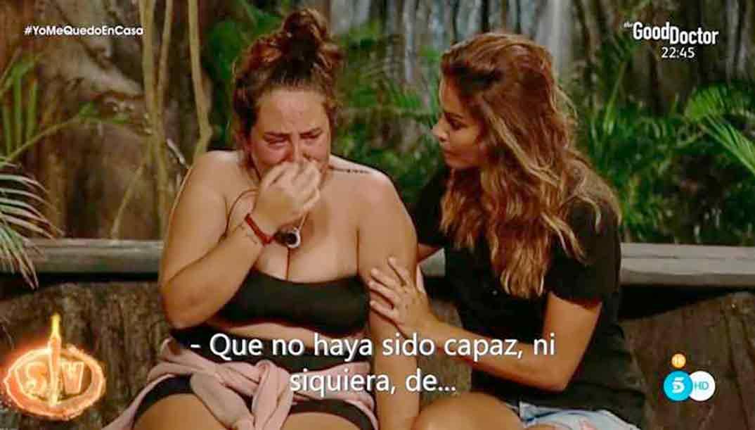 Rocío Flores y Lara Álvarez - Supervivientes 2020 © Mediaset