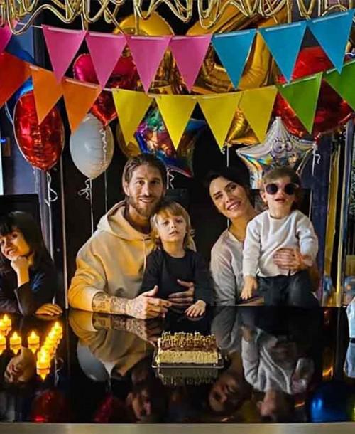 Así ha celebrado Sergio Ramos su 34 cumpleaños en casa