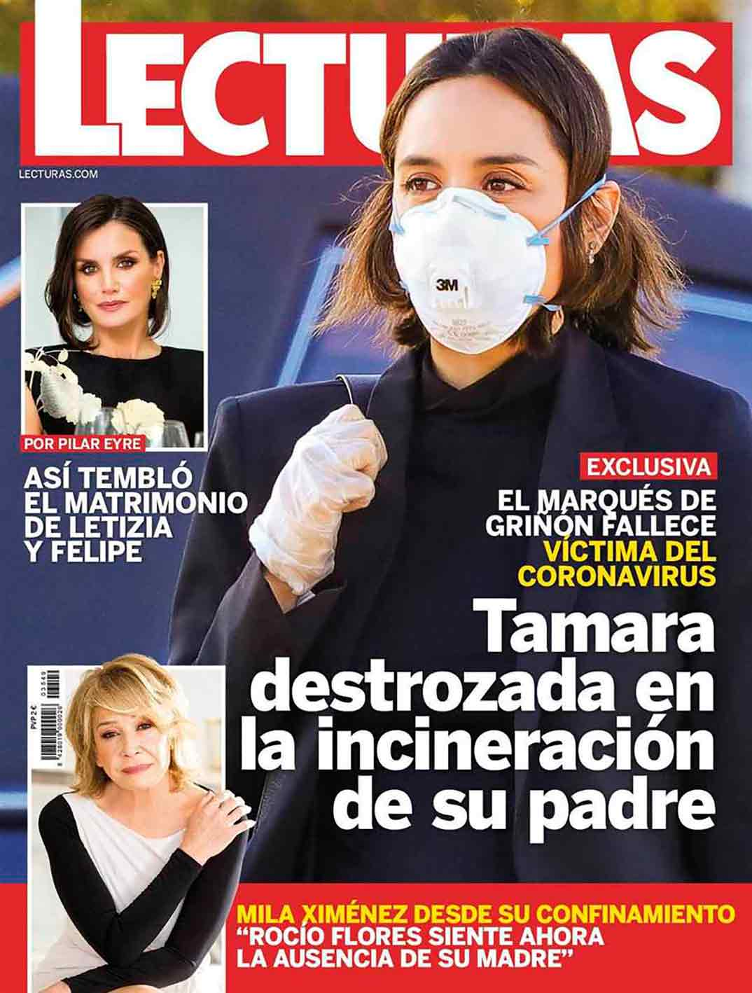 Tamara Falco - Revista Lecturas