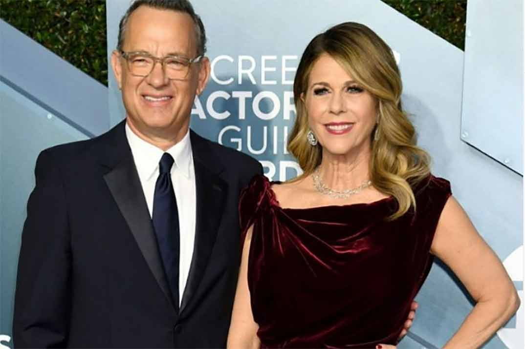 Tom Hanks y su mujer, Rita Wilson, dan positivo por coronavirus