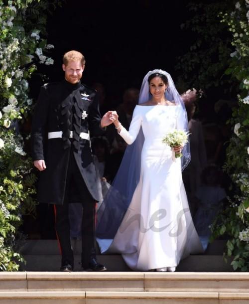 El príncipe Harry y Meghan Markle donan los beneficios de la retransmisión de su boda