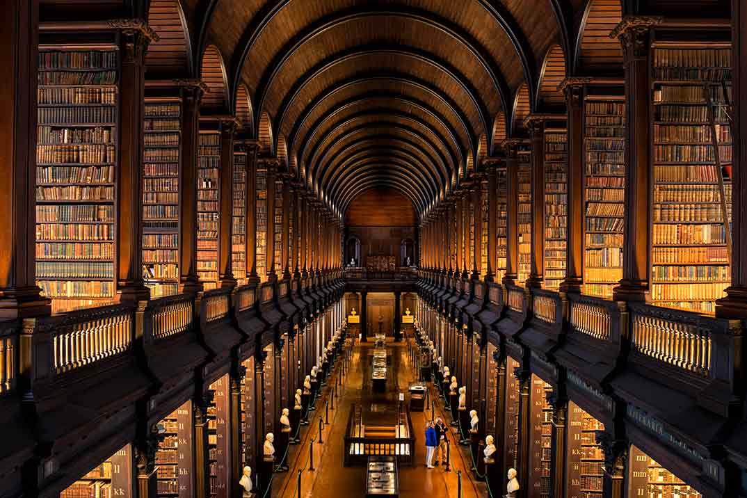 Bibliotecas singulares para viajar a través de la Literatura