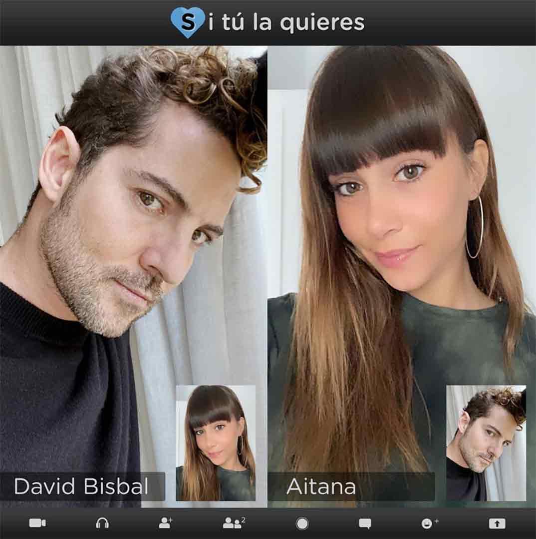 David Bisbal y Aitana © Instagram
