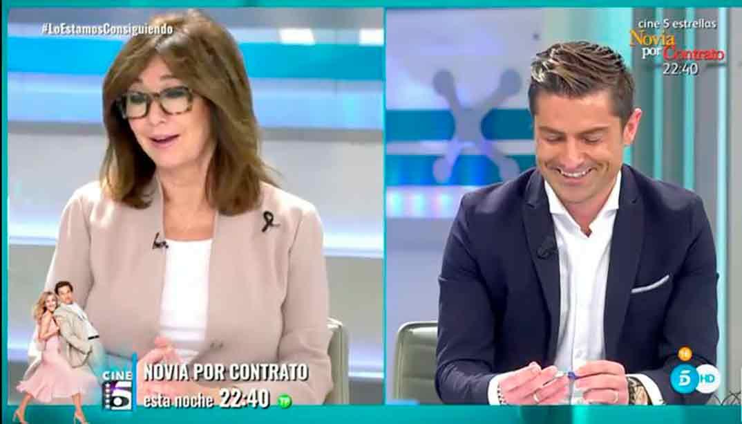 Ana Rosa Quintana y Alfonso Merlos © Mediaset