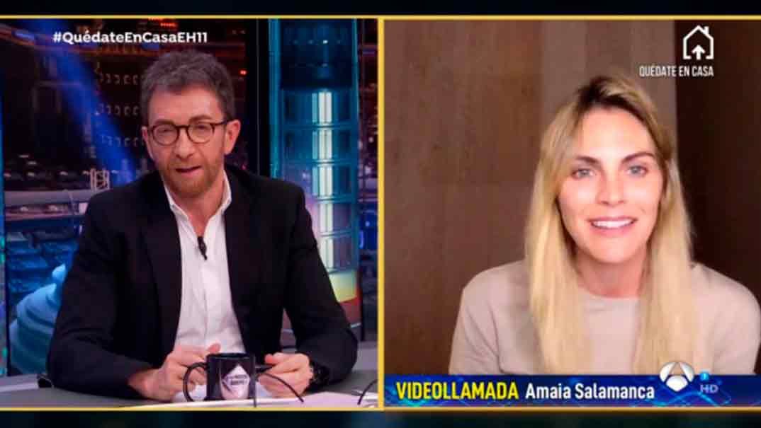 Amaia Salamanca y Pablo Motos - El Hormiguero Quédate en casa
