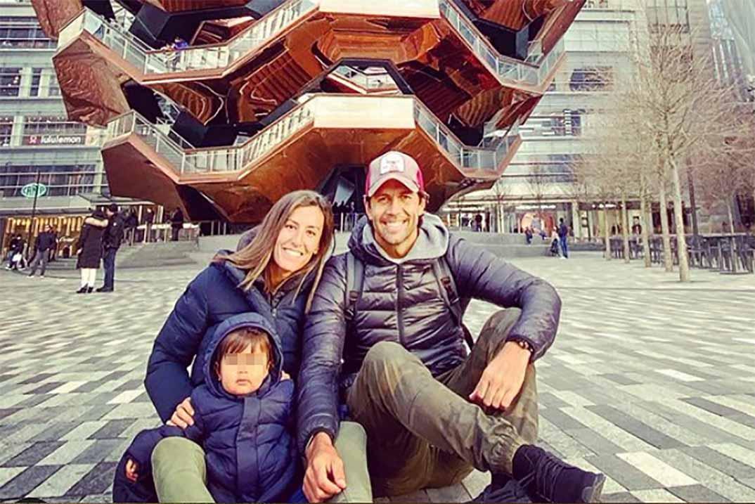 Miguel, el hijo de Ana Boyer y Fernando Verdasco, fan número uno de su padre
