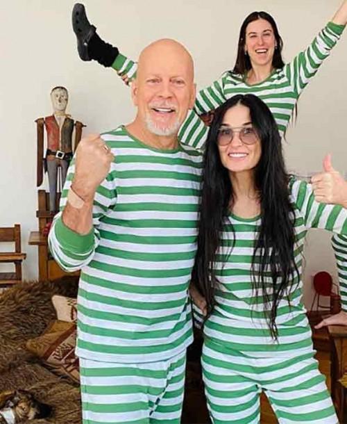 La hija de Bruce Willis revela por qué el actor está pasando la cuarentena con su ex, Demi Moore