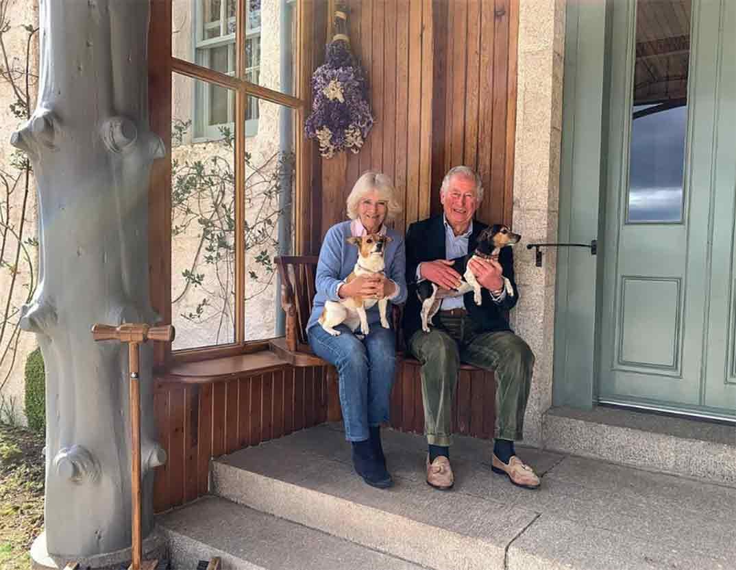 Príncipe Carlos y Camilla de Inglaterra © Instagram