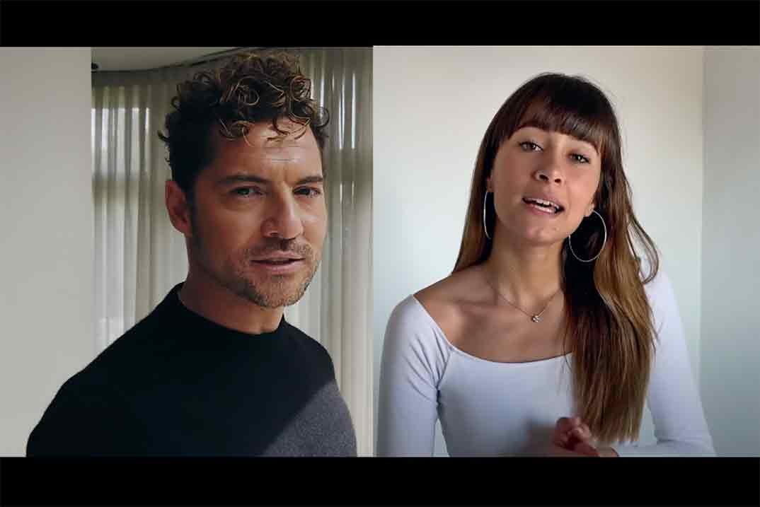 """¡Por fin! El videoclip de """"Si tu la quieres"""", primer single juntos de David Bisbal y Aitana"""