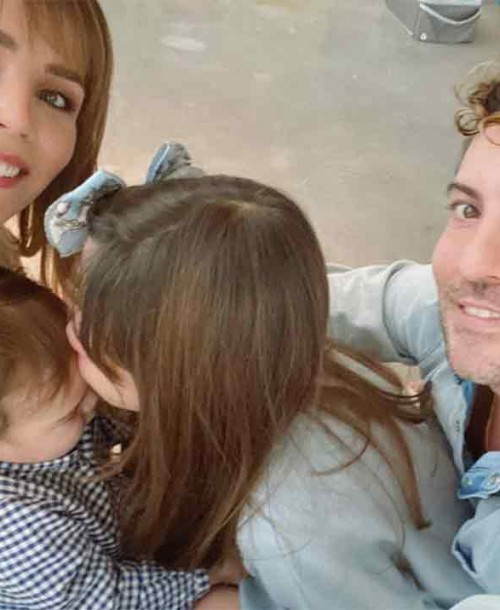 David Bisbal y Rosana Zanetti celebran el primer cumpleaños de su hijo Matteo
