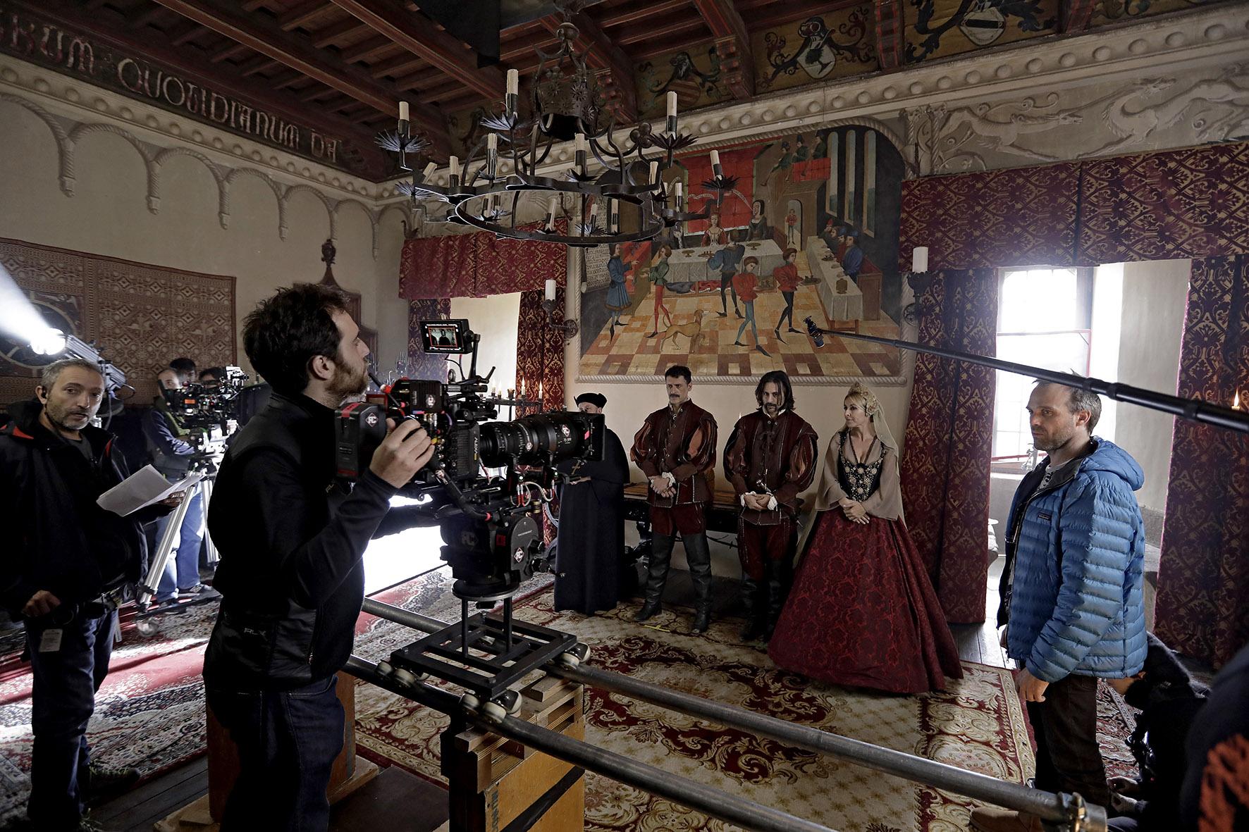 El Ministerio del Tiempo - Castillo Guadamur © RTVE