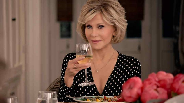 Jane Fonda - Grace and Frankie © Netflix