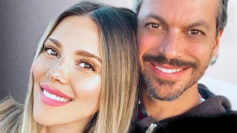Lorena Gómez y René Ramos © Instagram