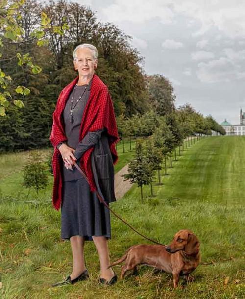 Los retratos más especiales de la reina Margarita en su 80 cumpleaños