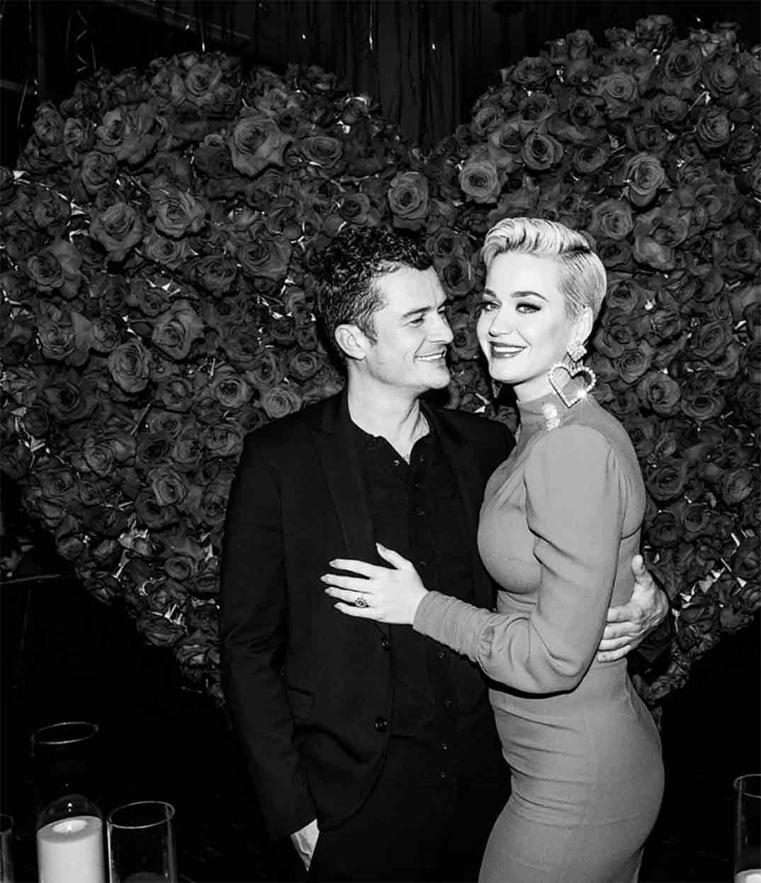 Orlando Bloom y Katy Perry © Instagram