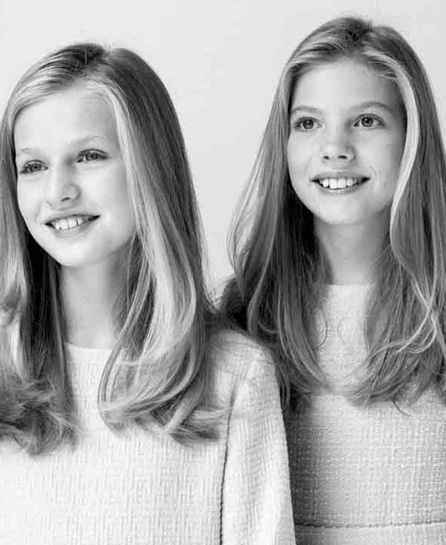 La infanta Sofía debutará hablando en público junto a su hermana, la princesa Leonor