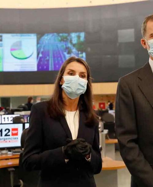 La primera salida de la reina Letizia tras decretarse el estado de alarma