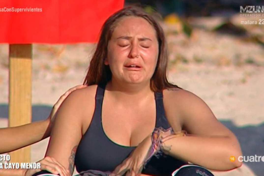 Rocío Flores amenaza con abandonar «Supervivintes»