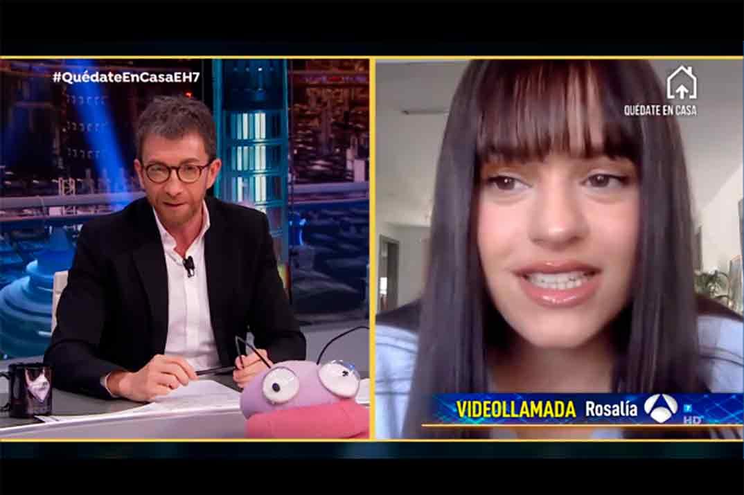 Rosalía desvela el motivo de su cambio de look