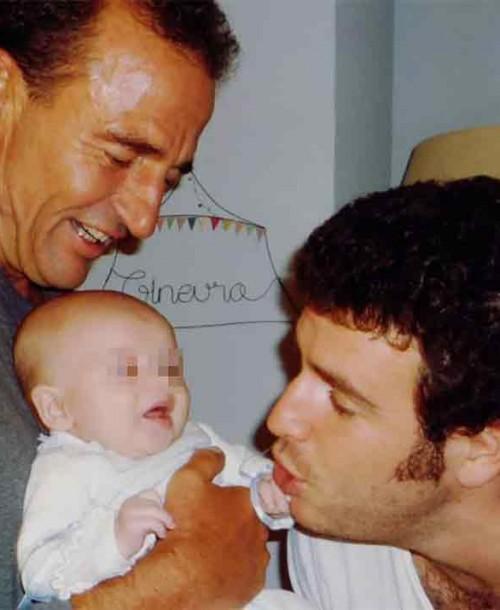 Alessandro Lequio recuerda a su hijo Álex con una tierna imagen de su pequeña Ginevra