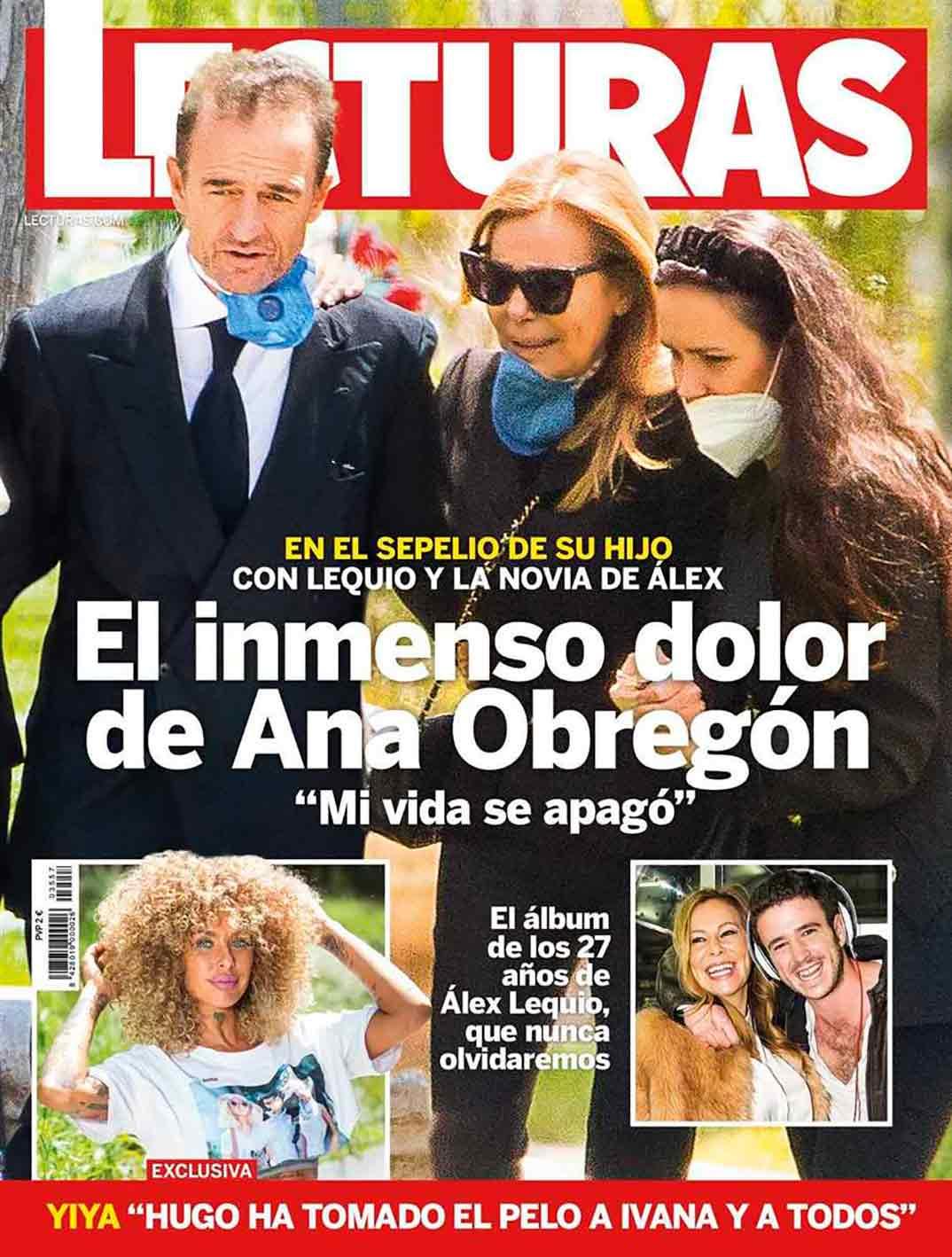 Ana Obregón Alessandro Lequio - Entierro Alex Lequio - Lecturas