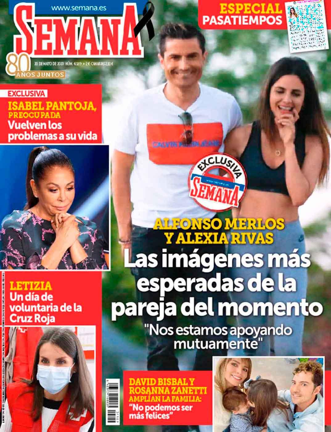Alexia Rivas y Alfonso Merlos - Revista Semana