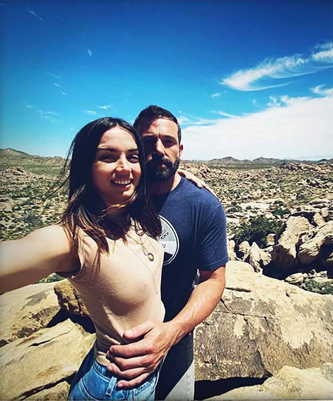 Ana de Armas y Ben Affleck © Instagram