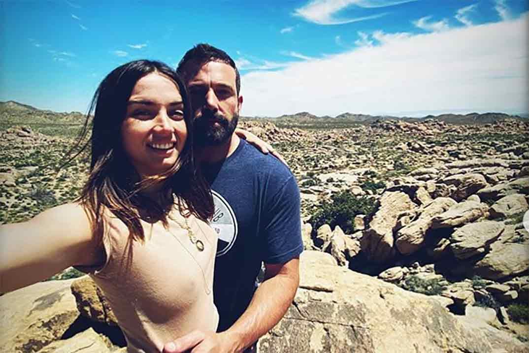 Ana de Armas celebra su cumpleaños más especial con Ben Affleck