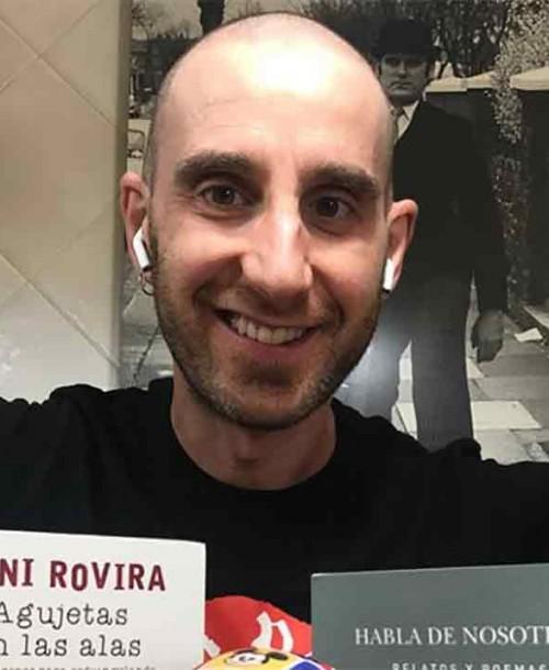 Dani Rovira disfruta de una cena para dos: «A ver si por ser vegano y tener cáncer no voy a poder»