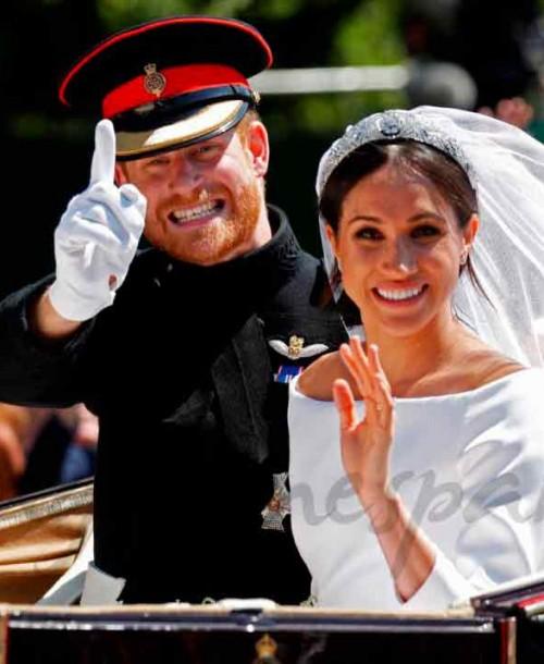El príncipe Harry y Meghan Markle celebran su segundo aniversario de boda lejos de la familia real británica