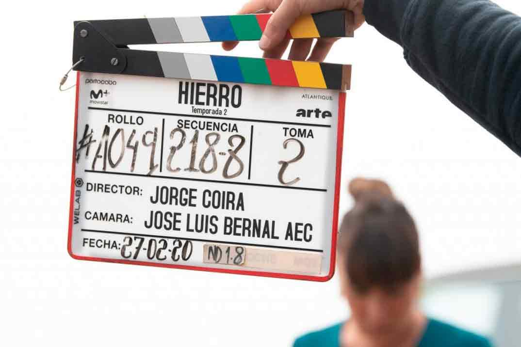'Hierro' comienza el rodaje de su segunda temporada