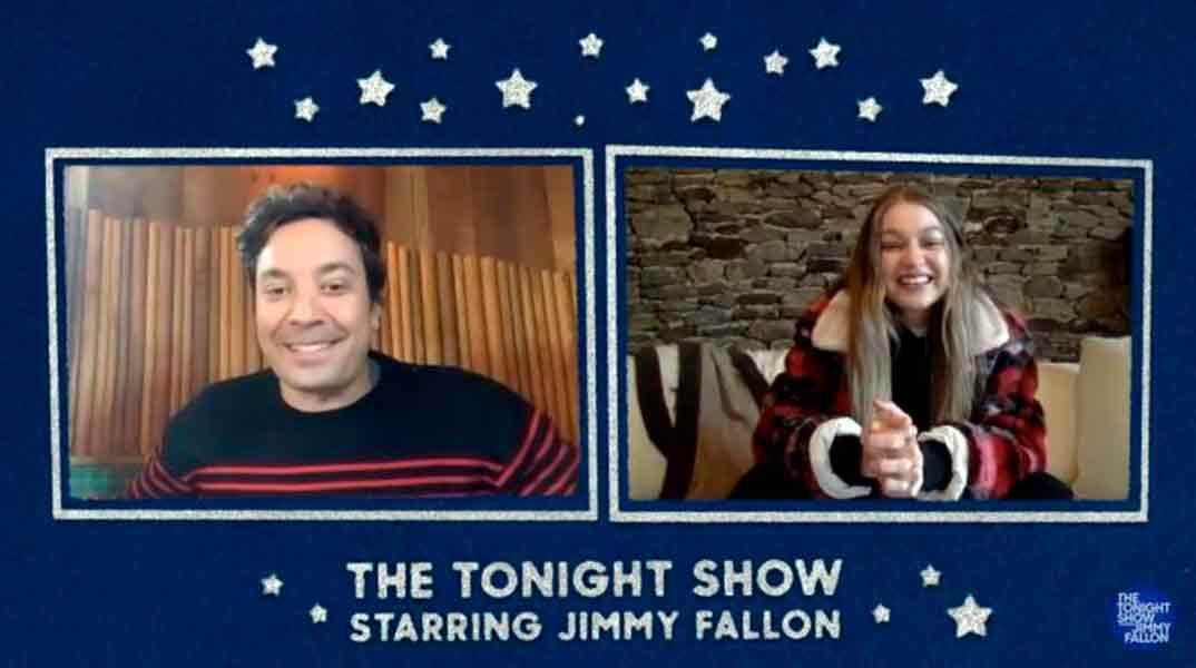 Gigi Hadid - The Tonight Show with Jimmy Fallon