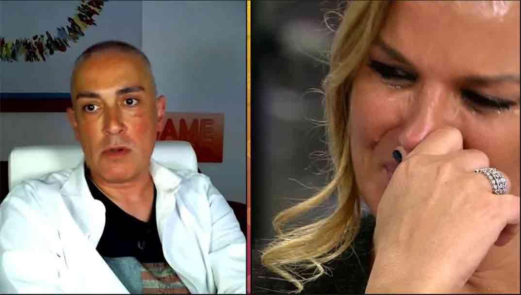 Kiko Hernández y Marta López - Salvame © Telecinco