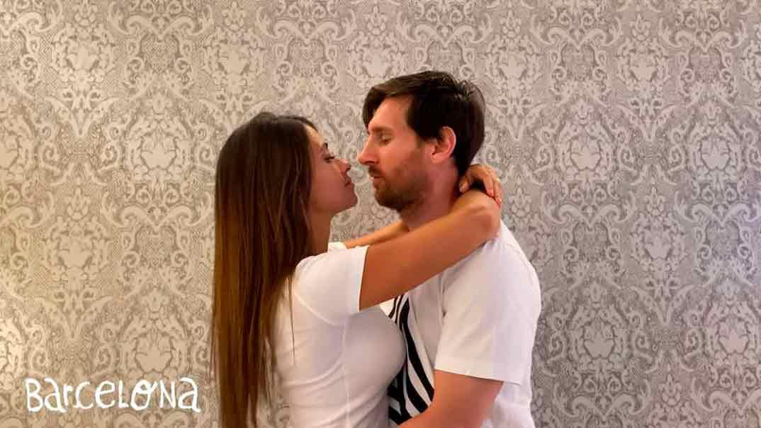 Leo Messi y Antonella Rocuzzo - Residente - Antes que el mundo se acabe