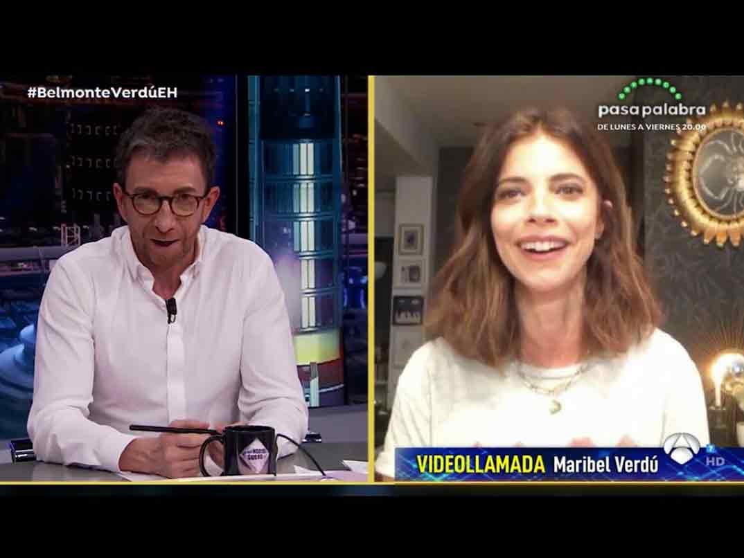Maribel Verdú - El Hormiguero © Antena 3