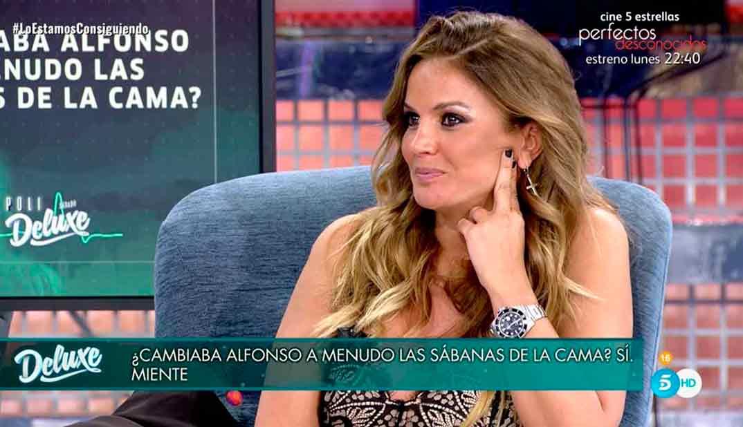 Marta López - Sálvame Deluxe © Telecinco