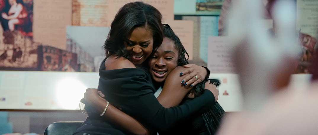 Michelle Obama - Becoming Mi historia © Netflix