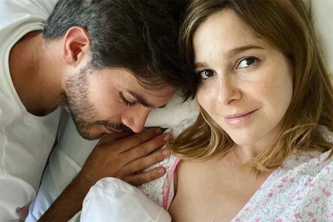 Natalia Sánchez y Marc Clotet presentan a su segundo hijo