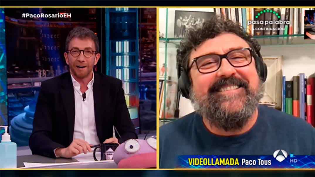 Paco Tous - El Hormiguero © Antena 3
