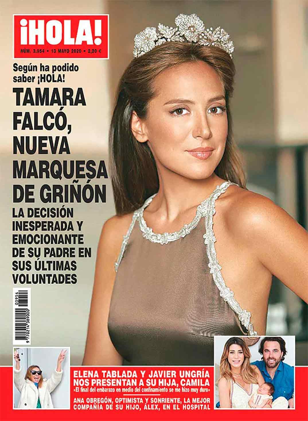 Tamara Falcó - Revista Hola