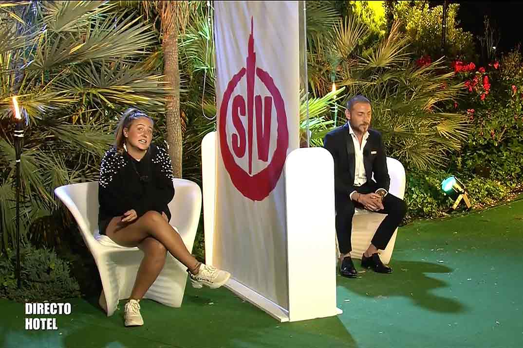 Antonio David y Rocío Flores - Supervivientes 2020 © Telecinco