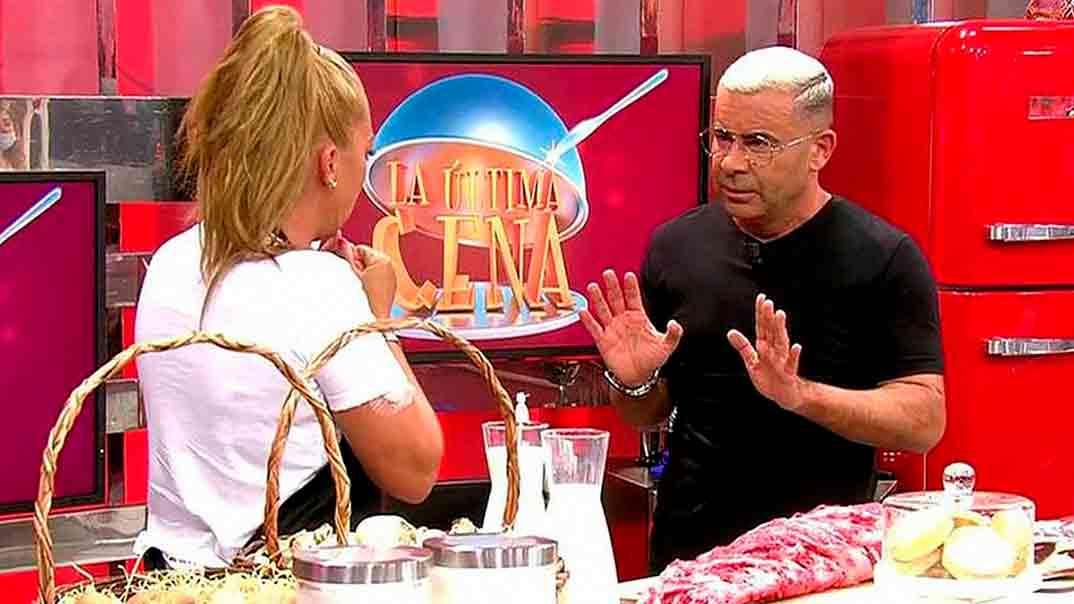 Belén Esteban y Jorge Javier Vázquez - La última cena © Telecinco