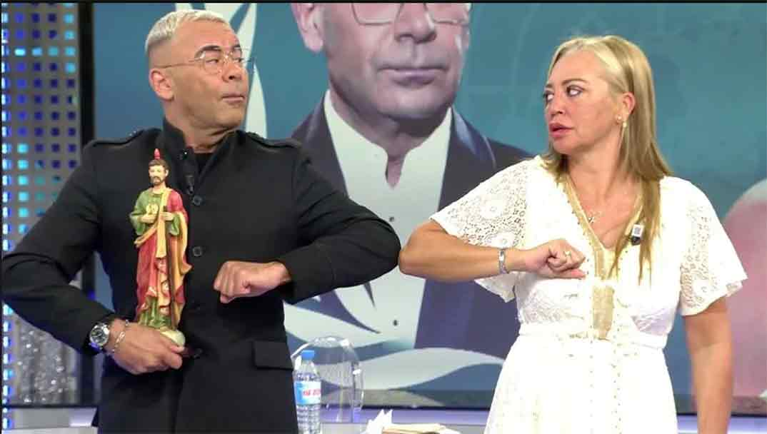 Belén Esteban y Jorge Javier Vázquez - Sálvame © Telecinco