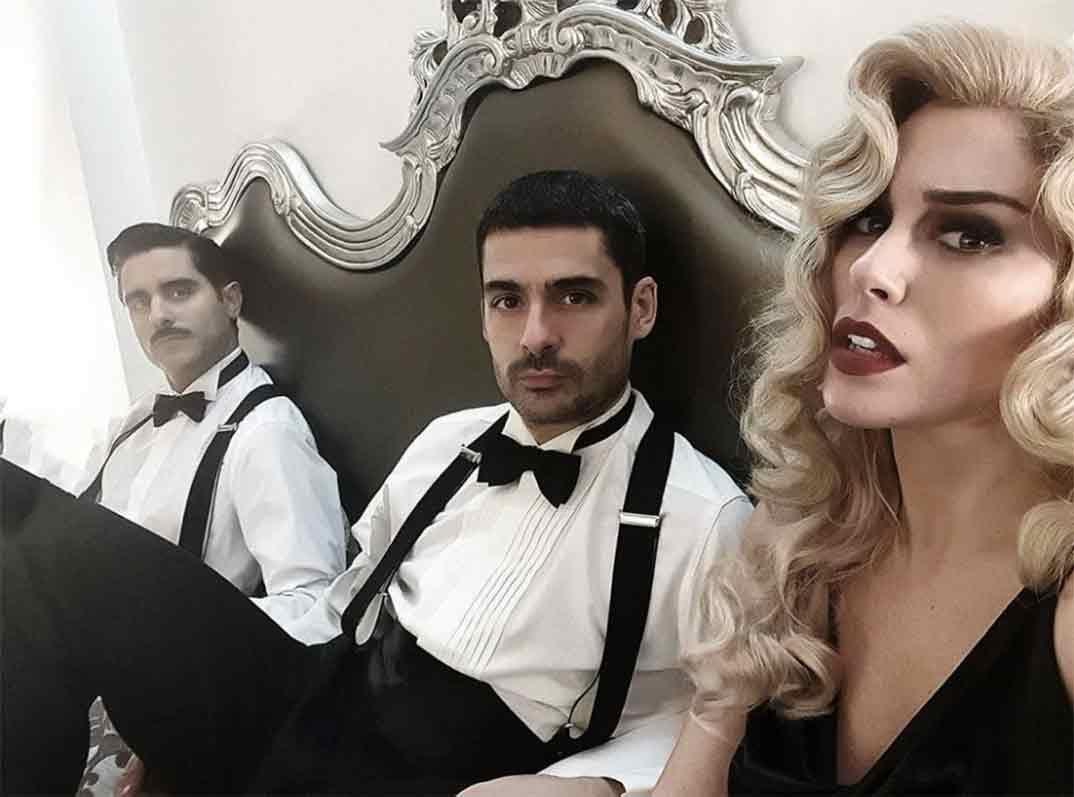 Blanca Suárez, Nico Romero y Miguel Diosdado © Instagram